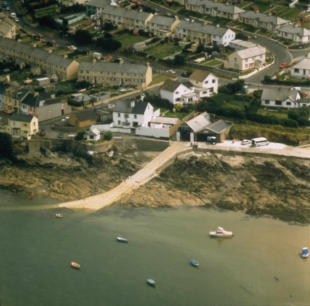 Aerial view of Appledore