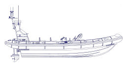 RNLI atlantic 85 outline